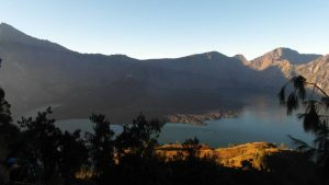 Lake & New volcano